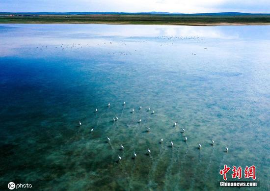 Aerial photos show spectacular views of Inner Mongolia
